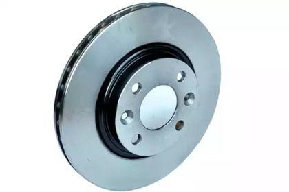 Вентилируемый передний тормозной диск 'ASAM 32937'.
