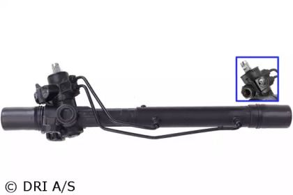 Рулевая рейка с ГУР (гидроусилителем) на VOLKSWAGEN PASSAT 'DRI 712520376'.