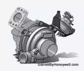 Турбина на SEAT LEON 'GARRETT 775517-5001S'.
