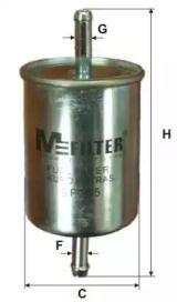 Топливный фильтр на БМВ 5 'MFILTER BF 305'.