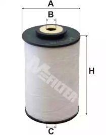 Топливный фильтр 'MFILTER DE 3108'.