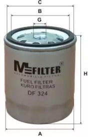Паливний фільтр 'MFILTER DF 324'.