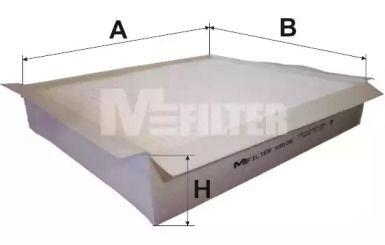 Салонный фильтр MFILTER K 9105.