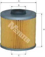 Масляний фільтр 'MFILTER TE 602'.