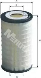 Масляний фільтр на Мерседес Гл Клас  MFILTER TE 620.