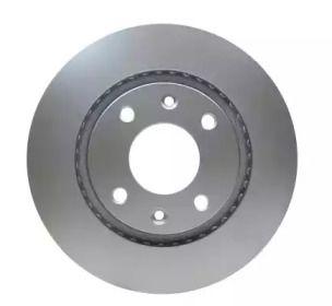 Перфорированный тормозной диск 'HELLA PAGID 8DD 355 108-351'.