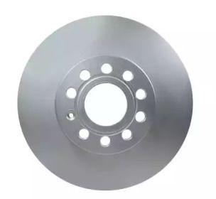 Вентилируемый тормозной диск на VOLKSWAGEN GOL 'HELLA PAGID 8DD 355 109-581'.