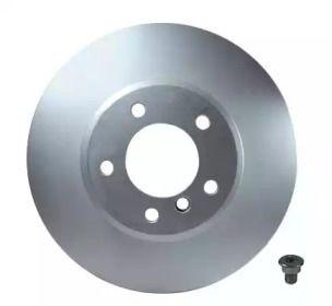 Вентилируемый тормозной диск на DAIHATSU HIJET 'HELLA PAGID 8DD 355 109-921'.