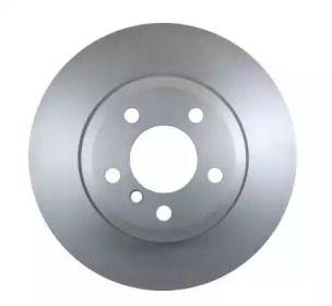 Вентилируемый тормозной диск на BMW X3 'HELLA PAGID 8DD 355 112-231'.
