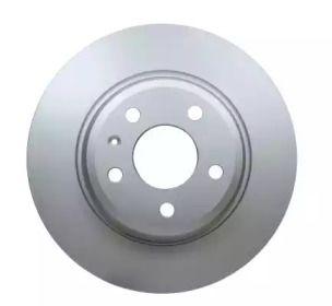 Тормозной диск на AUDI Q5 'HELLA PAGID 8DD 355 113-931'.