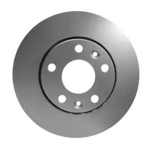 Перфорированный тормозной диск на Ниссан Террано 'HELLA PAGID 8DD 355 116-151'.