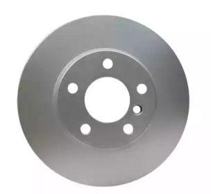 Вентилируемый тормозной диск на BMW X4 'HELLA PAGID 8DD 355 119-531'.