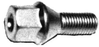 Болт колесный на Фольксваген Лупо 'METALCAUCHO 00792'.