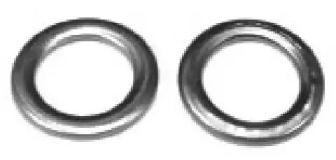 Уплотнительное кольцо, резьбовая пробка маслосливн. отверст. 'METALCAUCHO 02050'.
