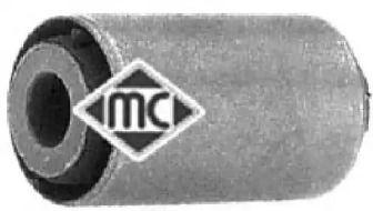 Левая передняя подушка КПП 'METALCAUCHO 04358'.