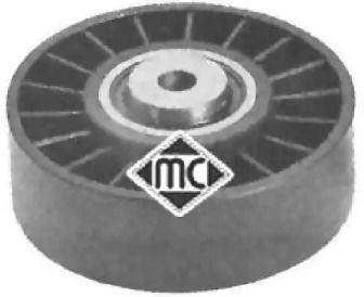 Натяжний ролик ременя генератора на Mercedes-Benz W210 METALCAUCHO 04926.