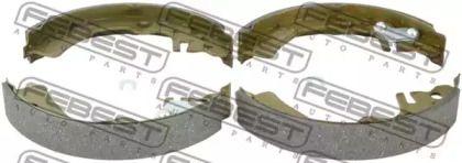 Барабанні гальмівні колодки FEBEST 0202-E11R.