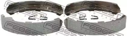 Барабанні гальмівні колодки FEBEST 0402-KB4TR.
