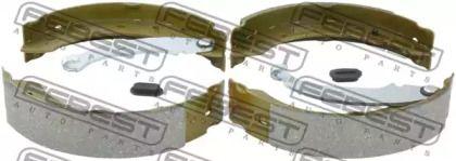 Барабанні гальмівні колодки FEBEST 2402-LOGR.
