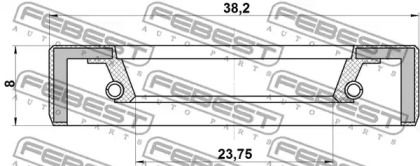 FEBEST 95FBY-26380808X