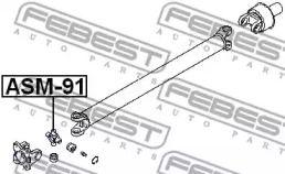Крестовина карданного вала 'FEBEST ASM-91'.