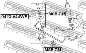 FEBEST MSB-735