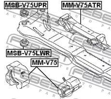 FEBEST MSB-V75LWR