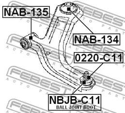 FEBEST NBJB-C11