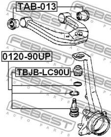 FEBEST TBJB-LC90U