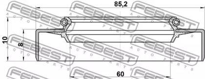 FEBEST TOS-002
