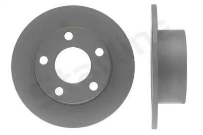 Задний тормозной диск на Шкода Суперб 'STARLINE PB 1067C'.