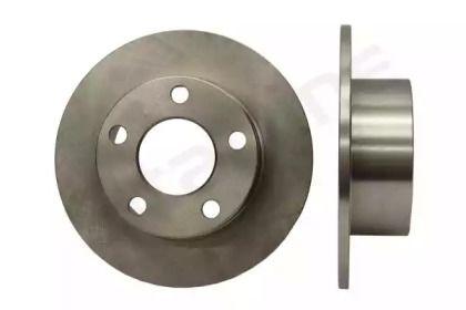 Задний тормозной диск на SKODA SUPERB 'STARLINE PB 1067'.