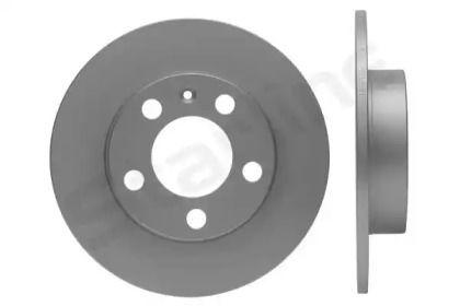Задний тормозной диск на Фольксваген Бора 'STARLINE PB 1243C'.