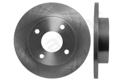 Передний тормозной диск на MAZDA 121 'STARLINE PB 1387'.