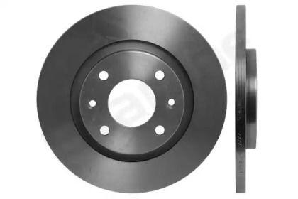 Передний тормозной диск на CITROEN C-ELYSEE 'STARLINE PB 1406'.