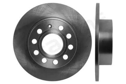 Задний тормозной диск на Фольксваген Сирокко 'STARLINE PB 1477'.