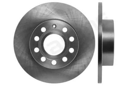 Задний тормозной диск на Шкода Суперб 'STARLINE PB 1488'.