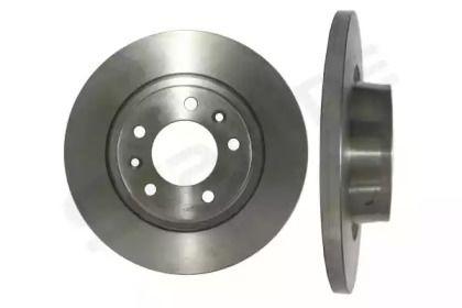 Задний тормозной диск на FIAT SCUDO 'STARLINE PB 1746'.