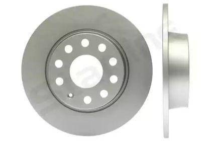 Задний тормозной диск на Фольксваген Тауран 'STARLINE PB 1915C'.