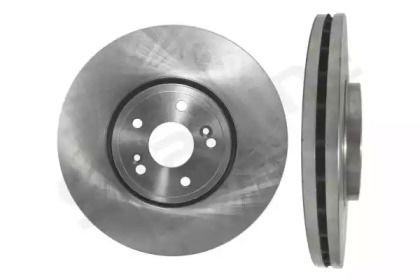 Вентилируемый передний тормозной диск на Рено Вель Сатис 'STARLINE PB 20058'.