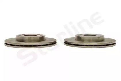 Вентилируемый тормозной диск STARLINE PB 20065 рисунок 2