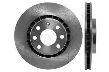 Вентилируемый передний тормозной диск на Опель Калибра 'STARLINE PB 2006'.