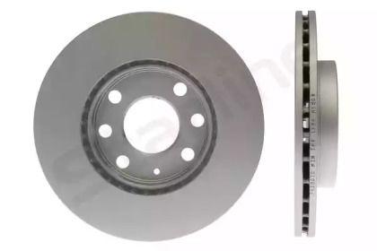 Вентилируемый передний тормозной диск на CHEVROLET AVEO 'STARLINE PB 2007C'.