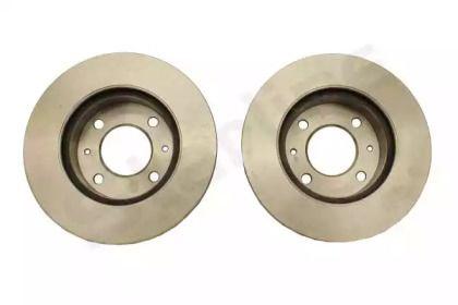 Вентилируемый передний тормозной диск на Хендай Атос 'STARLINE PB 20098'.