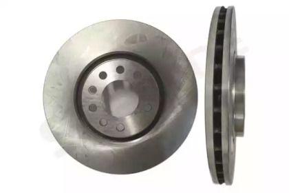 Вентилируемый передний тормозной диск на OPEL ADAM 'STARLINE PB 20143'.
