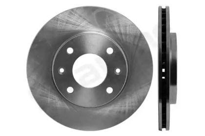 Вентилируемый передний тормозной диск на Ситроен Саксо 'STARLINE PB 2024'.