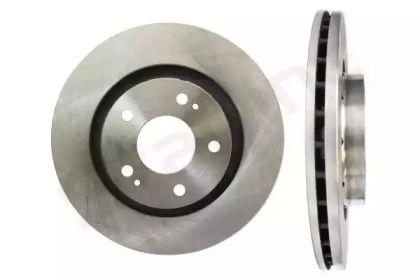 Вентилируемый передний тормозной диск на Пежо 4007 'STARLINE PB 20274'.