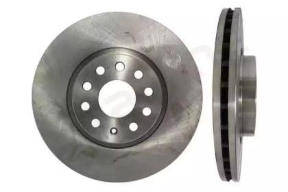 Вентилируемый передний тормозной диск на VOLKSWAGEN TIGUAN 'STARLINE PB 20312'.