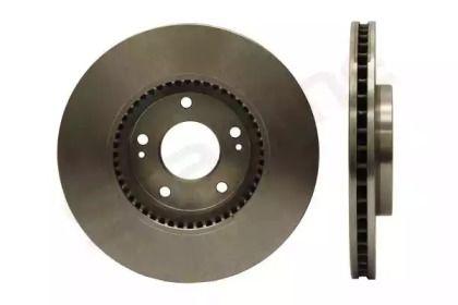 Вентилируемый передний тормозной диск на KIA OPTIMA 'STARLINE PB 20374'.