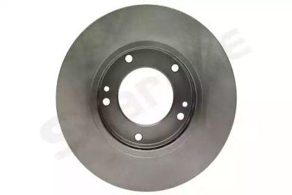 Вентилируемый передний тормозной диск на KIA SORENTO 'STARLINE PB 20428'.